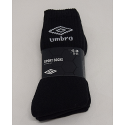 PACK 3 CALCETINES UMBRO